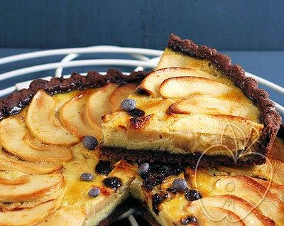 Tarta de Manzana y Chocolate (10)