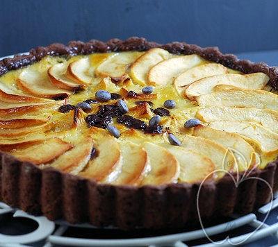 Tarta de Manzana y Chocolate (7)