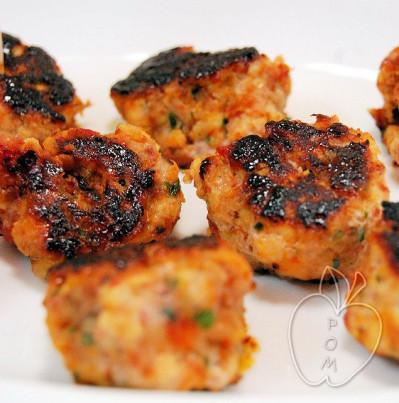 Albóndigas de pollo con chorizo y dátiles (4)