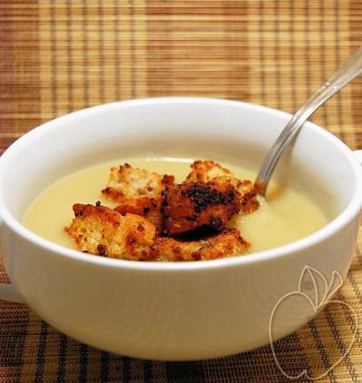 Crema de coliflor y mostaza (15)