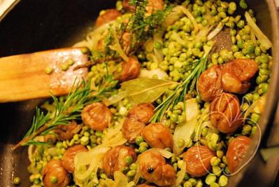 Crema de guisantes secos y castañas (4) - copia