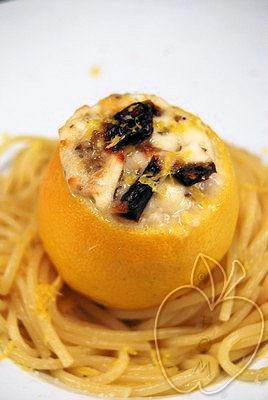 Limones rellenos de mozzarella y tomates secos (8)