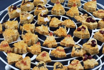 Galletas saladas de Avellanas y Grana Padano (2)
