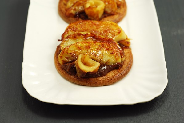 Tarta Exprés de Manzana y Caramelo Salado (7)