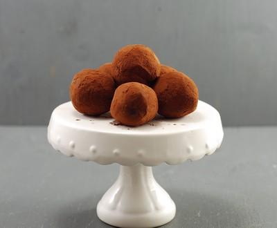 Trufas de caramelo salado (1)