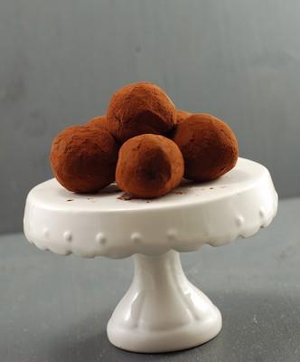 Trufas de caramelo salado (4)