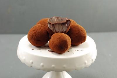 Trufas de caramelo salado (8)