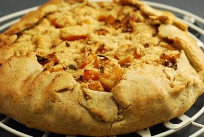 Galette (salada) de manzana y calabaza (3)