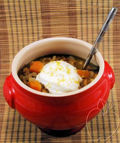 Guiso de lentejas y espelta con curry y calabaza (4) - copi