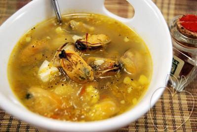 Sopa de mejillones y azafrán (5) - copia