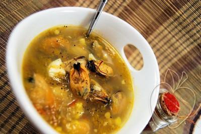 Sopa de mejillones y azafrán (6) - copia