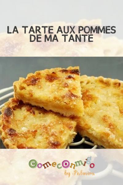 LA TARTE AUX POMMES DE MA TANTE