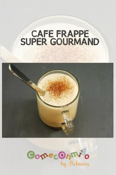 CAFÉ FRAPPÉ SUPER GOURMAND