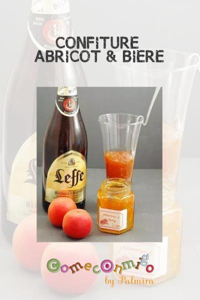 CONFITURE ABRICOT & BIÈRE