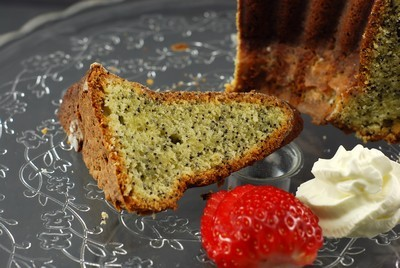 UN DULCE PARA CELEBRAR EL FIN DE SEMANA: LEMON&POPPY SEED BUNDT CAKE - BUNDT CAKE DE LIMÓN Y SEMILLAS DE AMAPOLA Y SU CHANTILLY DE LIMÓN