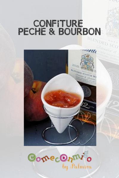 CONFITURE PÊCHE & BOURBON