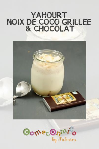 YAHOURT NOIX DE COCO GRILLÉE & CHOCOLAT