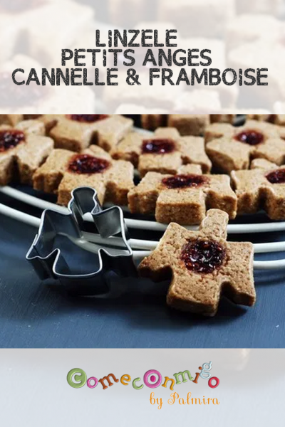 LINZELE PETITS ANGES CANNELLE ET FRAMBOISE