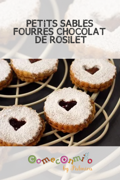 PETITS SABLÉS FOURRÉS CHOCOLAT DE ROSILET