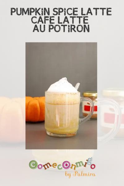 PUMPKIN SPICE LATTE – CAFÉ LATTE AU POTIRON