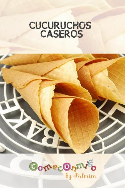 CUCURUCHOS CASEROS