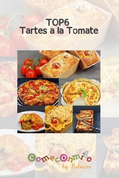 Top6 Tartes à la Tomate