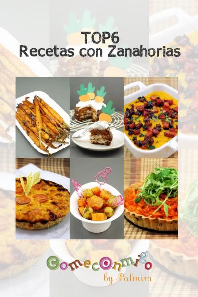 top6 recetas con zanahorias