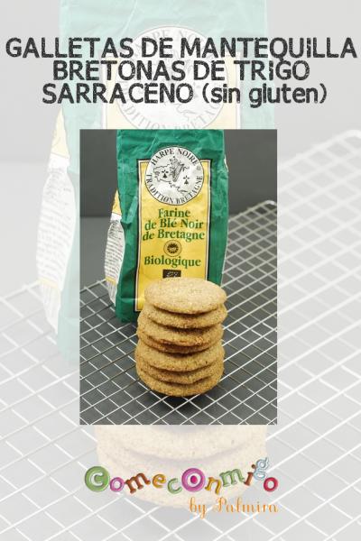 GALLETAS DE MANTEQUILLA BRETONAS DE TRIGO SARRACENO (sin gluten)