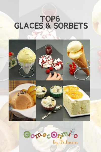 TOP6 GLACES & SORBETS
