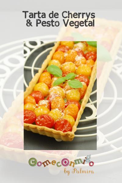 Tarta de Tomates Cherry & Pistou
