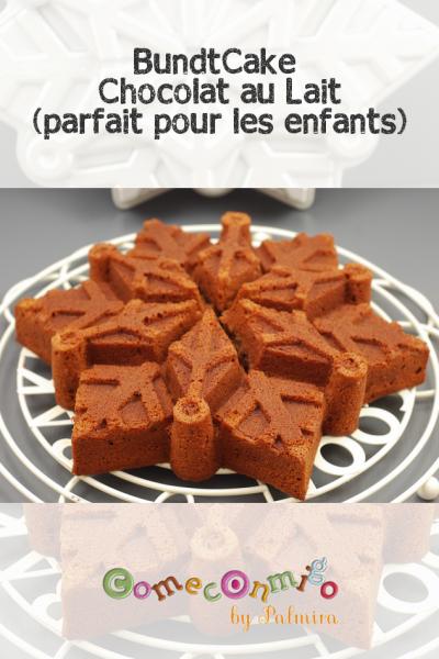 BundtCake Chocolat au Lait parfait pour les enfants