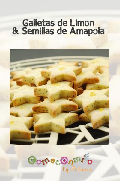 Galletas de limón y Semillas de Amapola