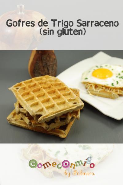 Gofres de Trigo Sarraceno saladas (sin gluten)