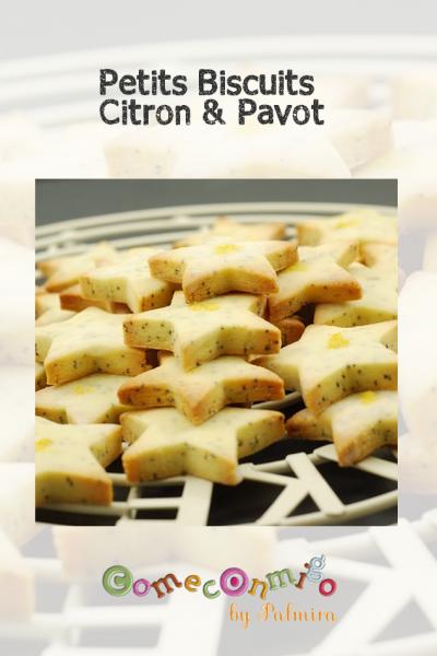 Petits biscuits citron et pavot