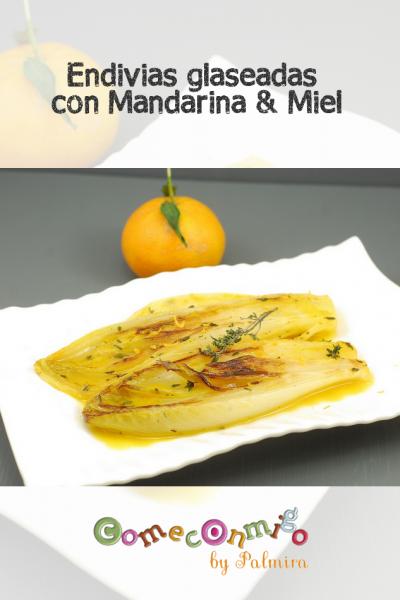 Endivias glaseadas con Mandarina & Miel