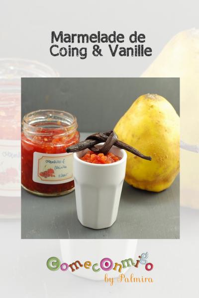 Marmelade de Coing & Vanille