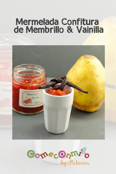 Mermelada Confitura de Membrillo & Vainilla