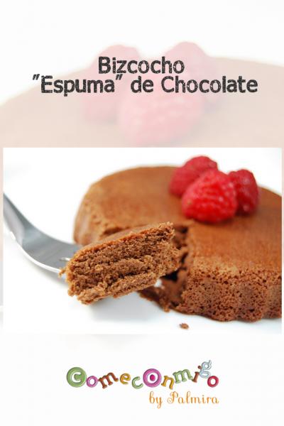 Bizcocho Espuma de Chocolate