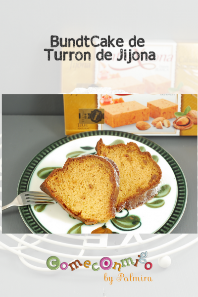 BundtCake de Turron de Jijona