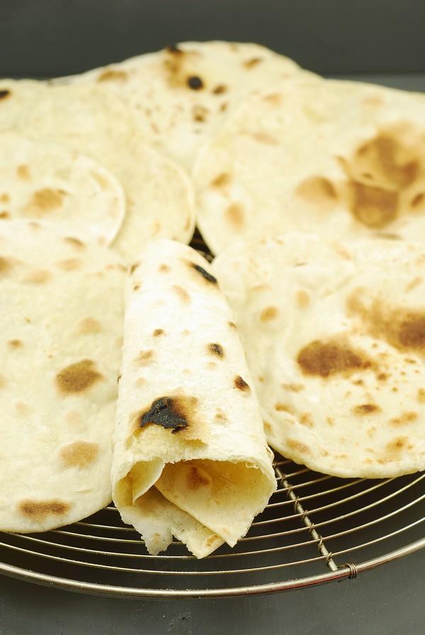 receta del pan pita sin levadura