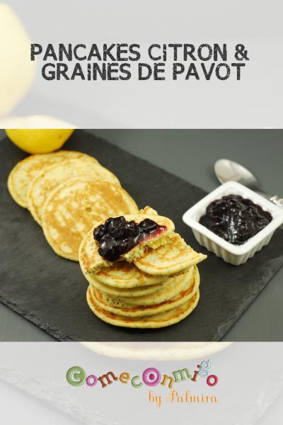 PANCAKES CITRON & GRAINES DE PAVOT