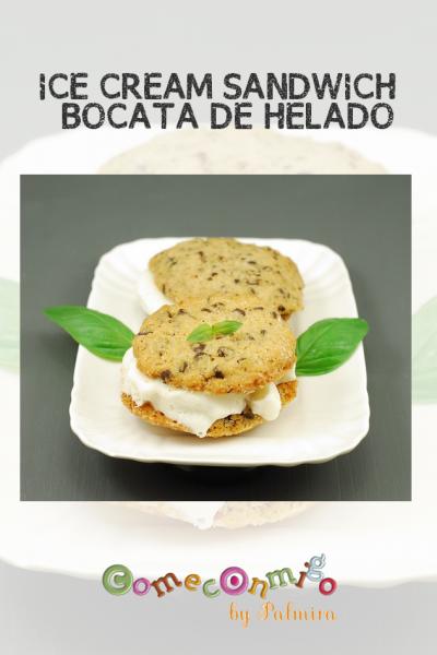 ICE CREAM SANDWICH O BOCATA DE HELADO