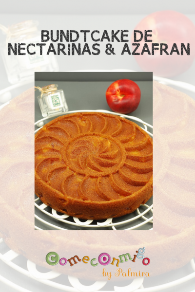 BUNDTCAKE DE NECTARINAS & AZAFRAN