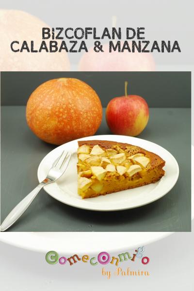 BIZCOFLAN DE CALABAZA & MANZANA