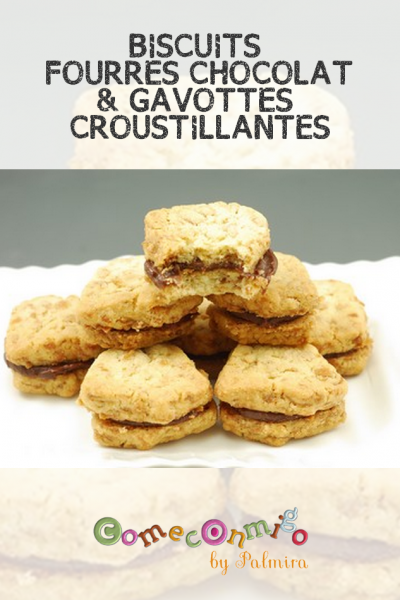 BISCUITS FOURRES CHOCOLAT & GAVOTTES CROUSTILLANTES