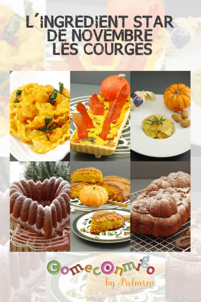 L'INGREDIENT STAR DE NOVEMBRE LES COURGES
