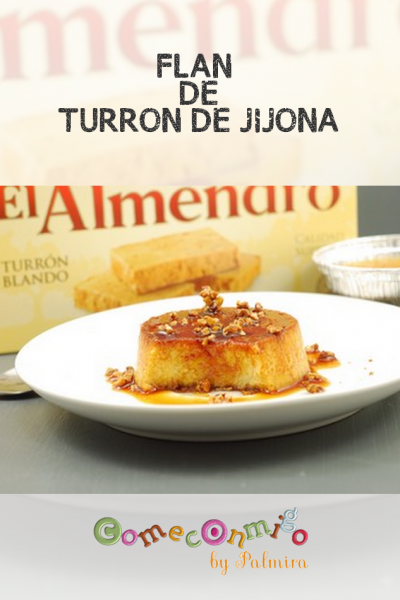 FLAN DE TURRON DE JIJONA