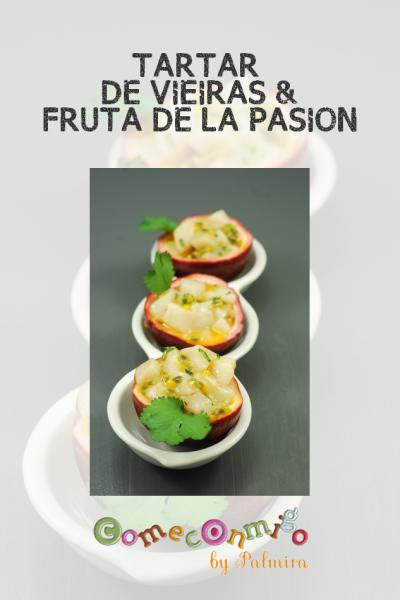 TARTAR DE VIEIRAS & FRUTA DE LA PASION