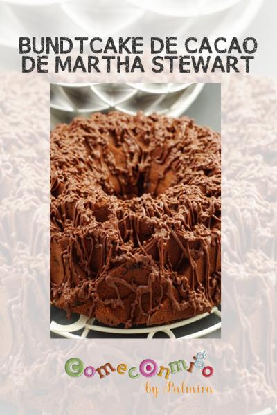 Bundtcake de cacao de Martha Stewart