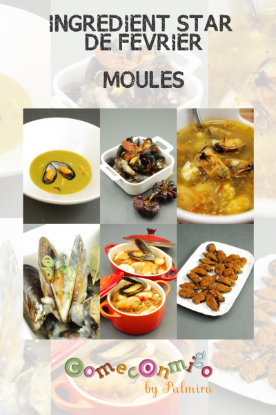 INGREDIENT STAR DE FEVRIER MOULES